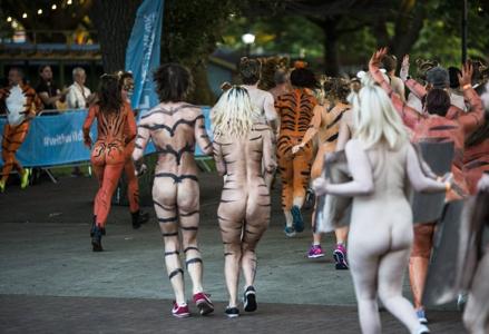 Nudist 5k run races amusing phrase
